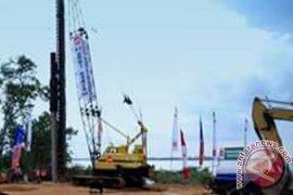 Pembangunan Jembatan Selat Pulau Laut Kotabaru Berlanjut