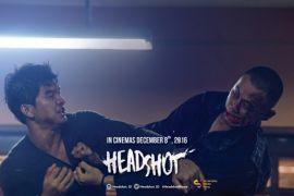 Headshot, laga dan darah