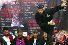 Prabowo Buka Kejuaraan Silat Dunia di Bali