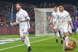 Gol telat Ramos Paksa El Clasico Berakhir Imbang 1-1