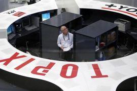 Bursa saham Tokyo ditutup naik ditopang pelemahan yen