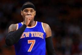 Carmelo Anthony dilaporkan bergabung dengan Rockets