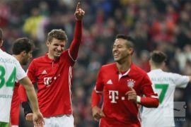 Bayern Muenchen diambang juara Bundesliga usai bekuk Freiburg