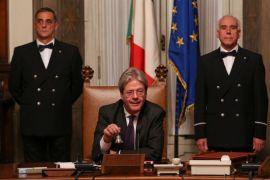 Kabinet baru PM Italia resmi dilantik
