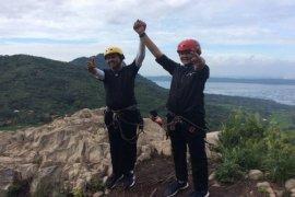 Gunung Parang Jadi Daya Tarik Pemanjat Tebing