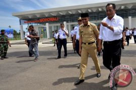 Bandara Morowali cerminan keseriusan Presiden Jokowi