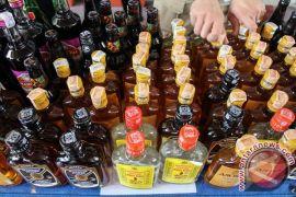 DJBC amankan 36.400 botol minuman keras ilegal
