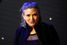 Carrie Fisher mendapat Grammy, Billie Lourd bangga