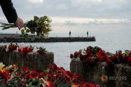 Rusia tak kesampingkan terorisme di balik pesawat jatuh di Laut Hitam