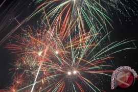 Warga Bogor tumpah di Lapangan Sempur rayakan tahun baru