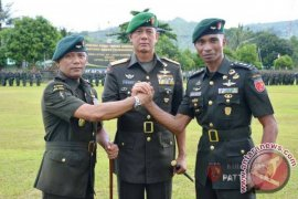 Pangdam Pimpin Sertijab Danyonif Raider 733/Masariku