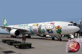 Aksi mogok pramugari Eva Air Taiwan batalkan  puluhan penerbangan