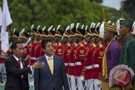 5.000 Pelajar Bogor Sambut Kedatangan PM Jepang