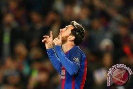 Lionel Messi masih pencetak gol terbanyak Liga Spanyol