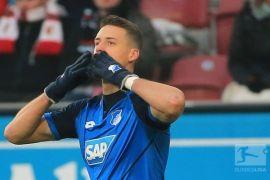 Liga Jerman: Hoffenheim menang, Wolfsburg imbang