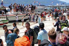 Kunjungan turis mancanegara naik 13,62 persen pada Maret