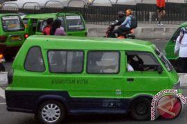 Angkot kota Bogor mogok beroperasi