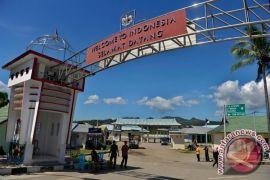 Jalan ambles, perbatasan NTT-Timor Leste putus total