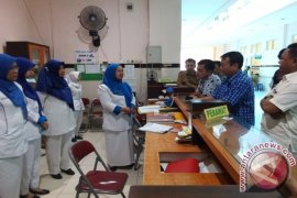 Komisi IV sidak pelayanan RSUD Raden Mattaher