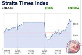 Bursa saham Singapura berakhir turun 0,47 persen