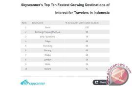 Skyscanner: Belitung dan Solo makin populer di antara destinasi domestik