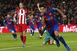 Barcelona hancurkan Girona 6-1, Suarez hattrick