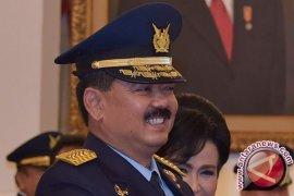 KSAU harapkan TNI AU bebas dari korupsi