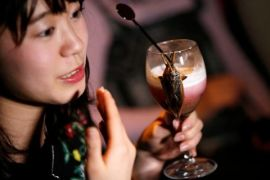 Jepang rayakan Valentine dengan koktail serangga
