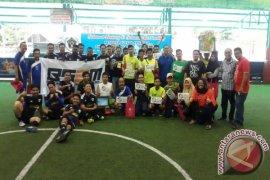 Pwi Sumut Selenggarakan Pertandingan Futsal Segitiga