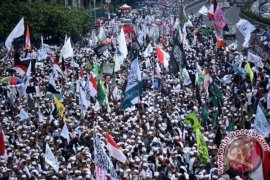 Panitia Reuni 212: lebih tiga juta orang hadir