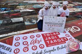 Pelajar Padang deklarasi tolak jadi target rokok