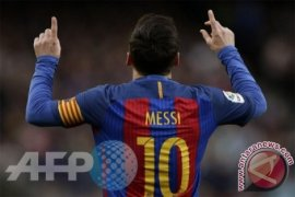 Polisi Peru sita kokain bergambar Lionel Messi