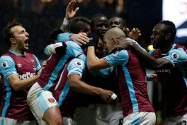 West Ham berjaya di markas Huddersfield