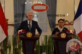 Menlu RI dan Prancis lakukan pertemuan bilateral