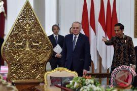 Presiden Joko Widodo terima Menlu Prancis