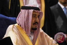 Raja Arab Saudi terima kunjungan Presiden Palestina
