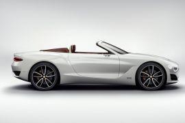 Sekali isi, mobil listrik Bentley EXP bisa jalan dari Paris ke London