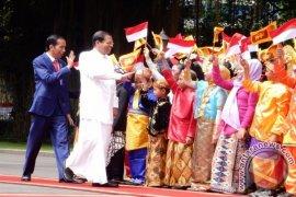 Jokowi-Sirisena Saksikan Penandatanganan Kerja Sama Perikanan
