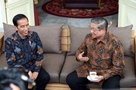 Presiden Jokowi Setuju Pendapat SBY soal Transisi Politik