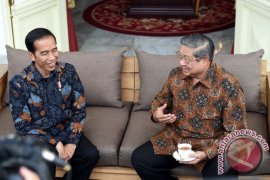 Presiden Jokowi Bertemu SBY di Istana