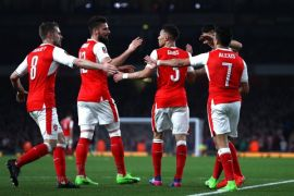 Arsenal lolos dari fase grup Liga Europa meski 0-0 lawan Belgrade
