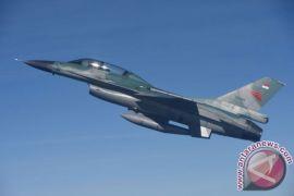 """Bambang """"Sphynx"""" Yudhistira raih 2.000 jam terbang F-16 Fighting Falcon"""
