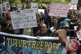 Mahasiswa Papua Tolak Freeport