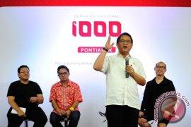 Pontianak lokasi Ignition Gerakan Nasional 1000 startup second wave