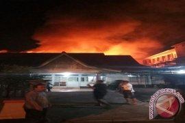 Asrama Mahasiswi Kabupaten Ketapang di Pontianak Ludes Terbakar