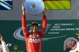Vettel sukses curi kemenangan di GP F1 Inggris