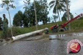 Petani Penajam tanam padi tunggu curah hujan  tinggi