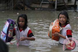 Banjir rendam empat desa di Kutai Kartanegara