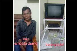 Polisi Tangkap Penjarah Barang Inventaris SDN 26Sungai Raya
