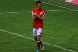 Lewandowski cetak gol terbanyak di Liga Jerman